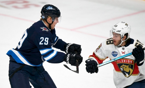 Yandle, Luongo lead Panthers over Jets for Finnish split