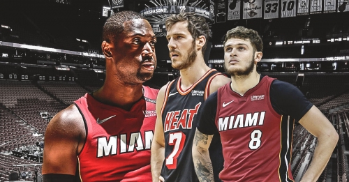 Heat's Dwyane Wade, Goran Dragic, Tyler Johnson out of practice