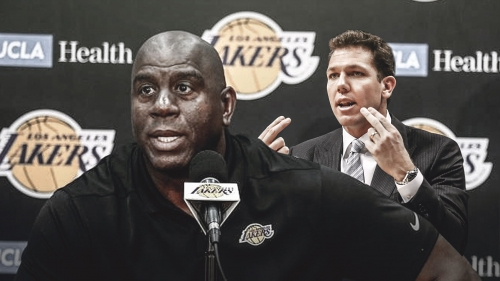 Lakers' Magic Johnson told Luke Walton he wants to see an offensive system, not wins/losses
