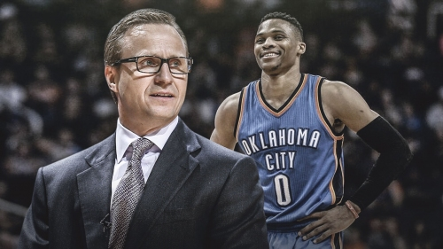 Former Thunder coach Scott Brooks says Russell Westbrook can play all five positions
