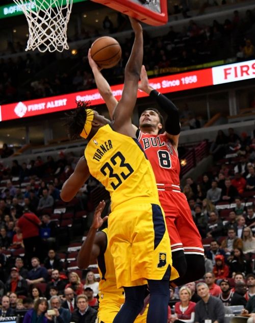 Pacers escape Bulls behind monster performance from Myles Turner on both ends