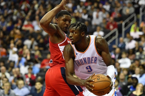 Recap: OKC routs Wiz on the road to get back to .500