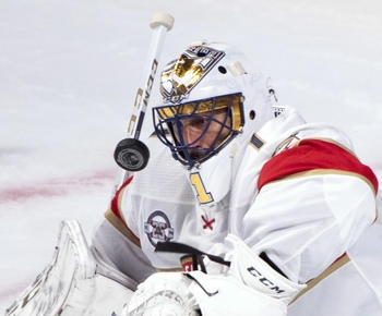 Luongo makes 32 saves, Panthers beat Jets 4-2 in Finland