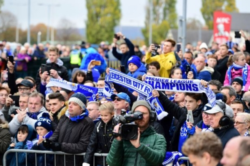 Why Leicester City fans are singing 'When You're Smiling' at emotional Cardiff City match