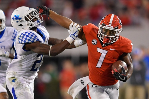 College Football Saturday: #6 Georgia Visis #9 Kentucky Plus All of Today's Action