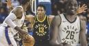 Pacers waive Ben Moore, Ike Anigbogu recalled