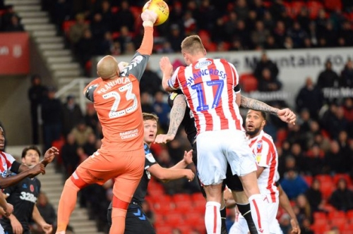 Stoke City 0, Middlesbrough 0: 90 second verdict on stalemate which ends with McClean needing protection