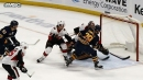 Jason Pominville goal chases Craig Anderson in first period