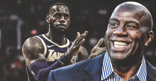 Magic Johnson will be influenced by LeBron James
