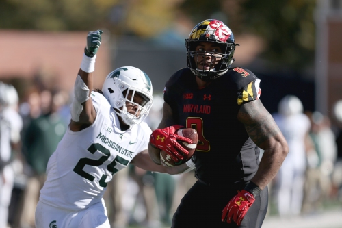 Fumbles go Michigan State's way in 24-3 win over Maryland