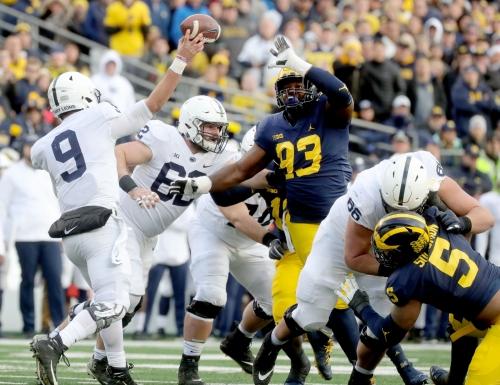 Michigan football: Rate their performance vs. Penn State
