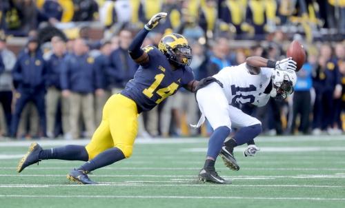 Michigan football hammers Penn State behind stout defense, 42-7
