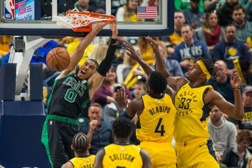 Celtics outpaced by the Pacers 102-101