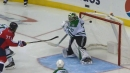 Nicklas Backstrom finds daylight from sharp angle to beat Ben Bishop