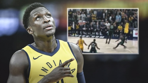 Video: Pacers' Victor Oladipo nails game-winning 3-pointer vs. Celtics