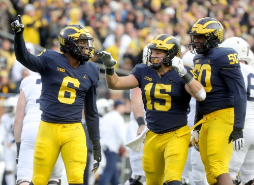 Michigan football: Penn State 'so scared' of our defensive line