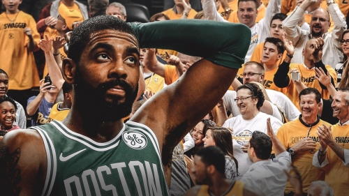 Celtics' Kyrie Irving responds to Pacers fans recruiting him in-game