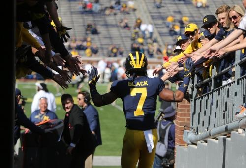 Michigan's Shea Patterson: 'Amazing feeling' to have Tarik Black back