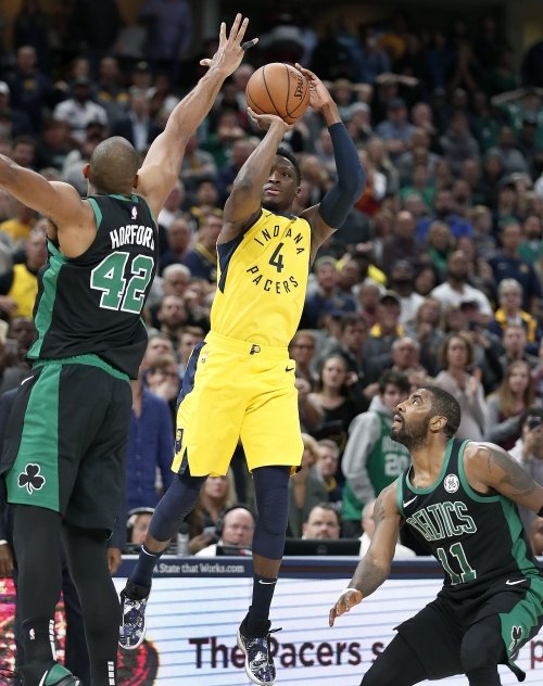 Pacers star Victor Oladipo: 'Down 2, shoot 3. Every time.'