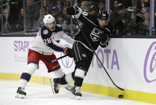 Kings get second victory in three games with a win over Columbus