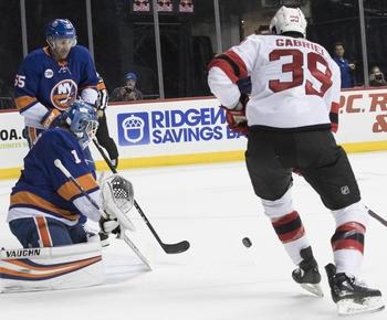 NHL roundup: Greiss stops 35 shots, Islanders blank Devils 3-0