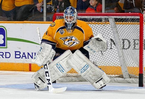 Juuse Saros Gives Nashville Predators Glimpse Into Future