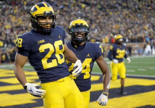 Michigan football stock watch: OL, Brandon Watson on the rise