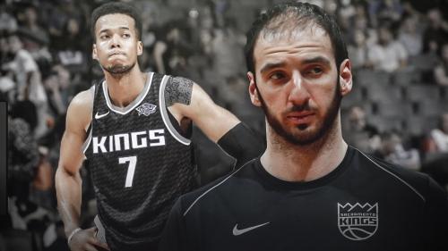 Report: Kings have little interest in trading Kosta Koufos, Skal Labissiere