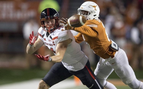 Texas to travel to Lubbock for a night game against the Red Raiders