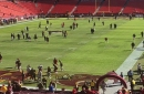 Inactives: Falcons at Redskins
