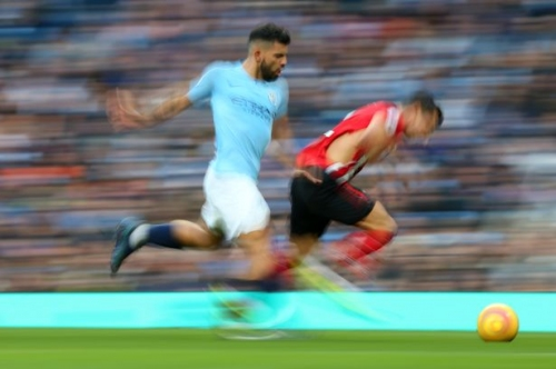 Man City blitz Southampton with ruthless brilliance to go clear at the top of the Premier League