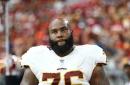 Redskins Injury Update: Morgan Moses leaves game with knee injury