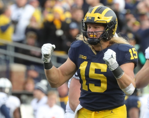 Michigan football up to No. 4 in AP Top 25; Michigan State back in at 24th