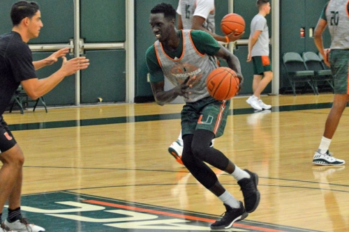 Canes Hoops Player Profile: Deng Gak Ready to Make a Splash
