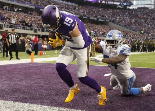 Lions stop Adam Thielen from breaking Megatron's NFL record
