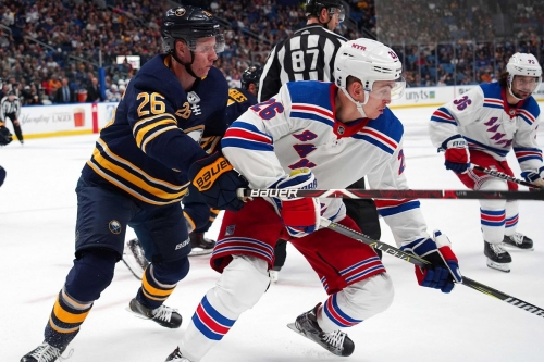 Game Thread: Sabres at Rangers, Game 15