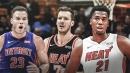 Hassan Whiteside, Goran Dragic questionable for Heat vs. Pistons on Monday