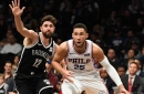 LeVert, Russell lead Nets in rout over 76ers, 122-97
