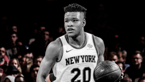 Knicks rookie Kevin Knox says he's 'getting real close' to return