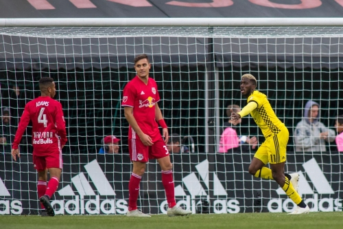 Three Thoughts: Columbus Crew trips up New York Red Bulls in opening leg of 2018 MLS Eastern Conference Semifinals