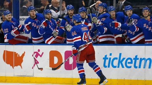 Lundqvist, Vesey lead Rangers to win over Sabres