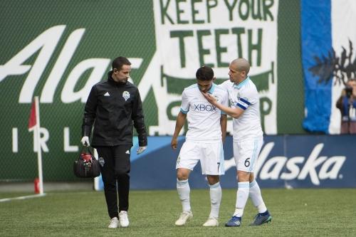 Chad Marshall, Cristian Roldan injury updates