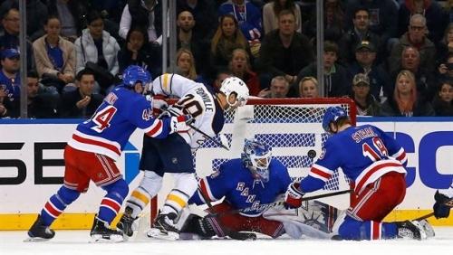 Game Wrap: King Henrik, Rangers rule over Sabres