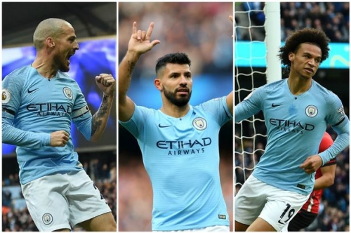 Man City news and transfers LIVE highlights from Southampton win and build-up to Shakhtar and Man Utd games