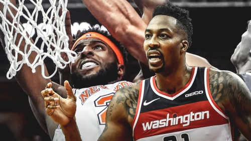 Wizards' Dwight Howard likes Knicks rookie Mitchell Robinson's upside