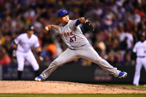Hansel Robles was plagued by home runs and walks in his final year with the Mets