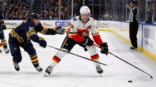 Monahan, Pettersson, Point named NHL's three stars of the week