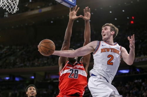 The Knicks have assigned Luke Kornet to the G League