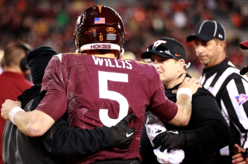 Ryan Willis still standing after taking beating in loss to Boston College