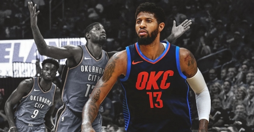 Paul George says Thunder's 4-game winning streak fueled by 'different energy, swagger'